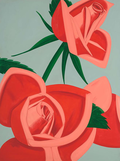 Alex Katz, 'Rose Bud', 2018, Jim Kempner Fine Art