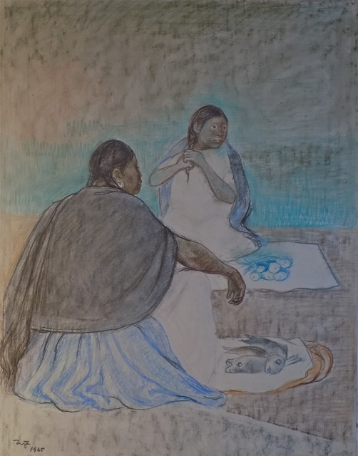 , 'Mujeres Sentadas,' 1965, Stern Fine Art