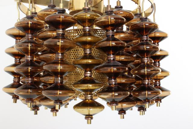 Hans Agne Jacobsson, 'Pair of ceiling lamps model T581/H - Estrella by Hans Agne Jakobsson', 1960-1969, Dimoregallery