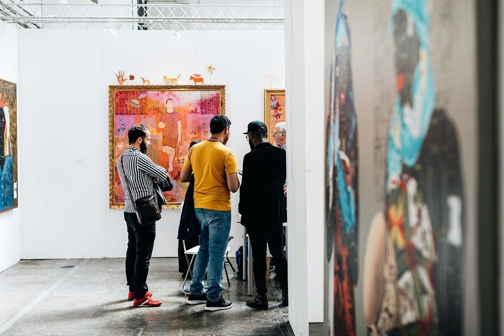 Image courtesy of 1-54 Contemporary African Art Fair and Brittany Buongiorno ©