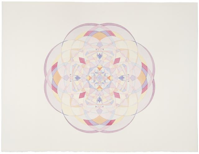 , 'Kaleidoscopic Spirograph Still #19,' 2013, ELLEPHANT