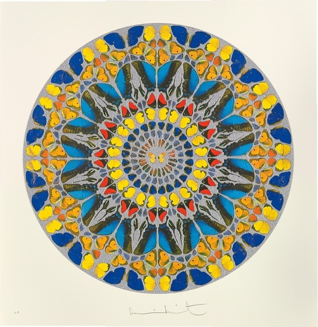 Damien Hirst, 'Psalm - Confitebor Tibi - DIAMOND DUST', 2010, Kunzt Gallery
