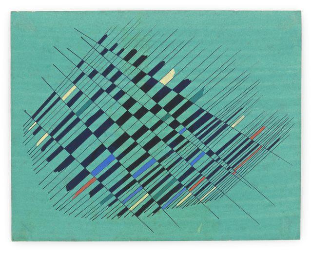 , 'Estudio 2 (Study 2),' 1952, Moderna Museet