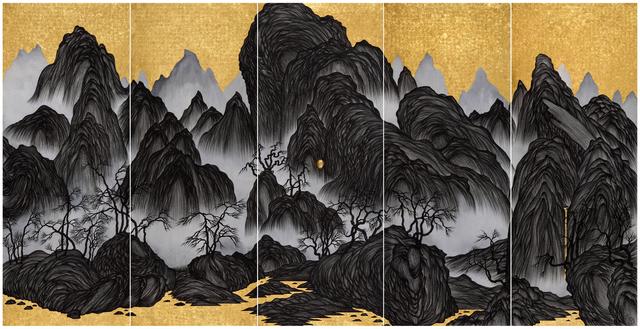 , 'Brain Landscape II: Epoch  ,' 2015, Tina Keng Gallery