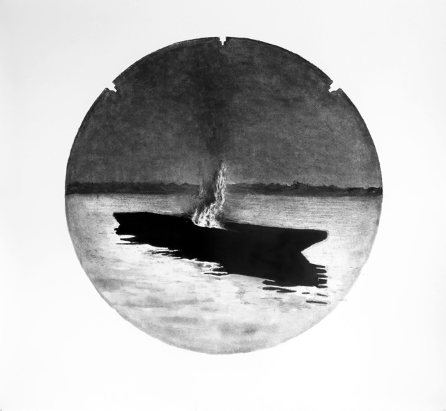 , 'Série Anatomia do Fogo - Canoa,' 2014, Galeria Lume