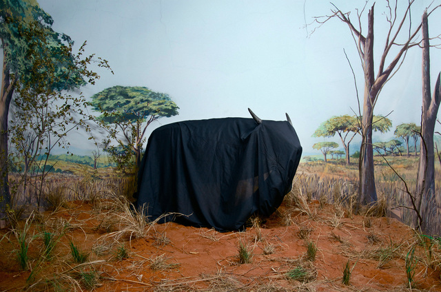 Kiluanji Kia Henda, 'In the Days of a Dark Safari #8', 2017, Goodman Gallery
