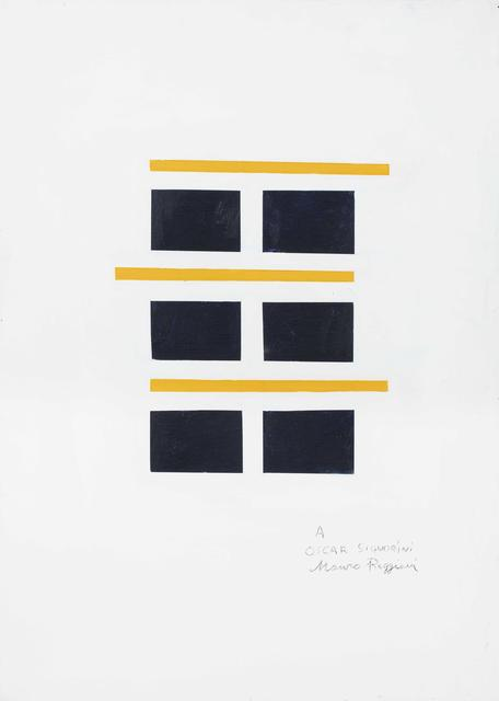 Mauro Reggiani, 'Composition', executed in 1971, Pandolfini