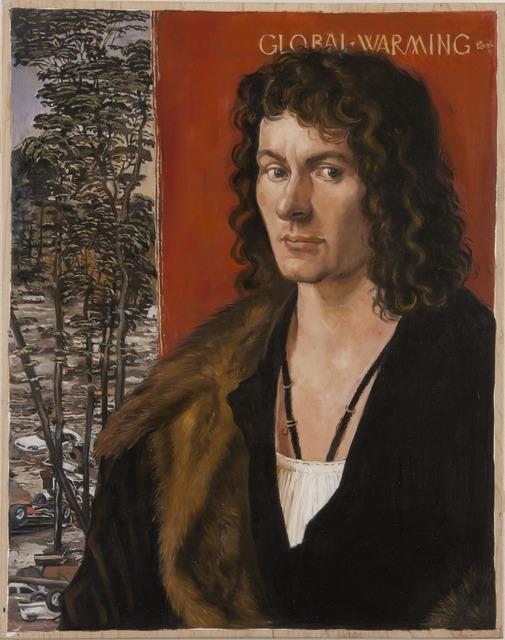 , 'Global Warming after Albrecht Durer's Portrait of Oswolt Krel,' 2013, Francis M. Naumann Fine Art