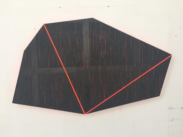 , 'Straight Down Rain,' 2018, Philip Slein Gallery