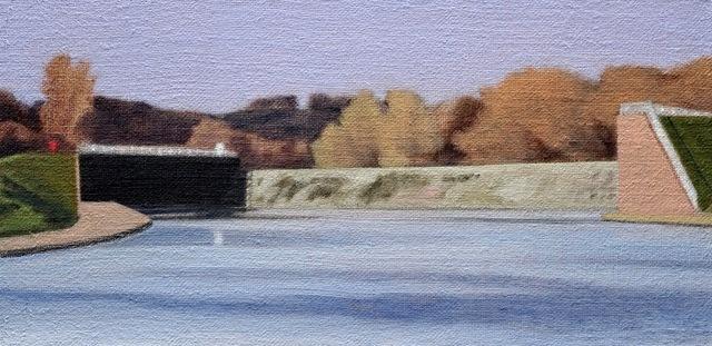 Alex Lowery, 'Flood Scheme 2', 2020, Painting, Oil on canvas, Sladers Yard