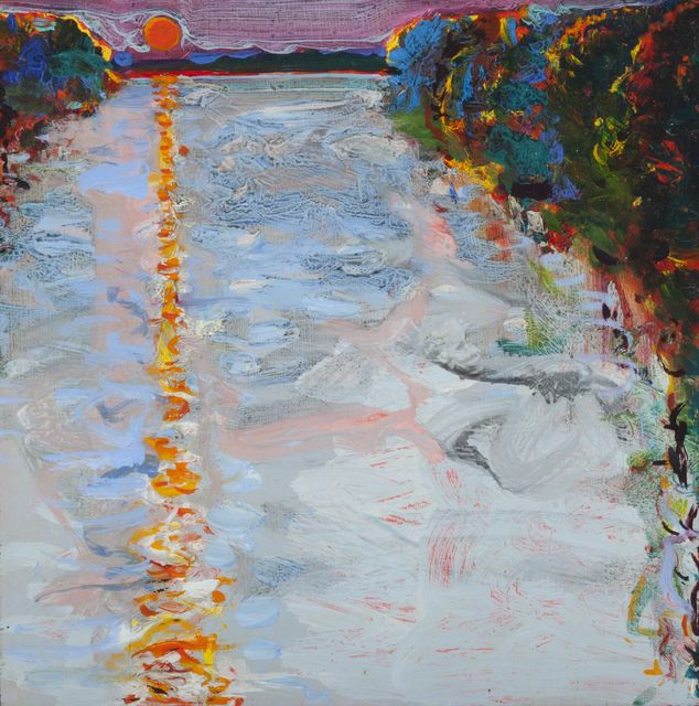 , 'River Sunset,' 1986, Allan Stone Projects