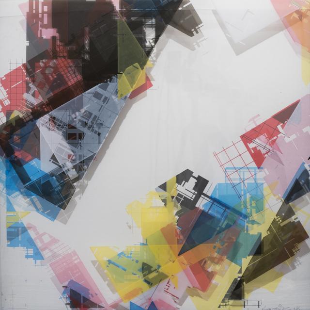 , 'Geometric space / Colour,' 2018, Galleria Varsi