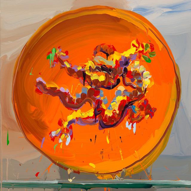 , 'Dragon Orange,' 2017, Galerie Zwart Huis