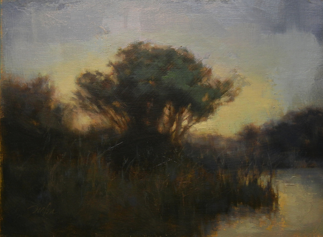 , 'Evening Illumination,' 2016, Bowersock Gallery