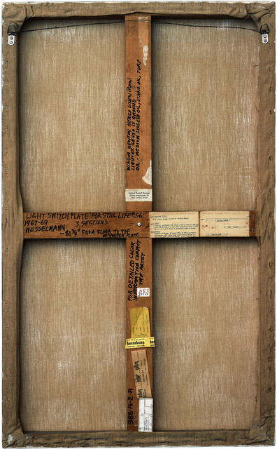 , 'Verso n°19, Panneau de Still Life 56, par Tom Wesselmann, collection Mamac, Nice,' 2007, Modernism Inc.