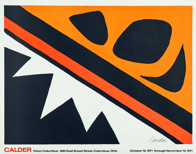 Alexander Calder, 'Alexander Calder 'La Grenouille et Cie' (Calder Pace/Columbus poster) ', 1971, Lot 180