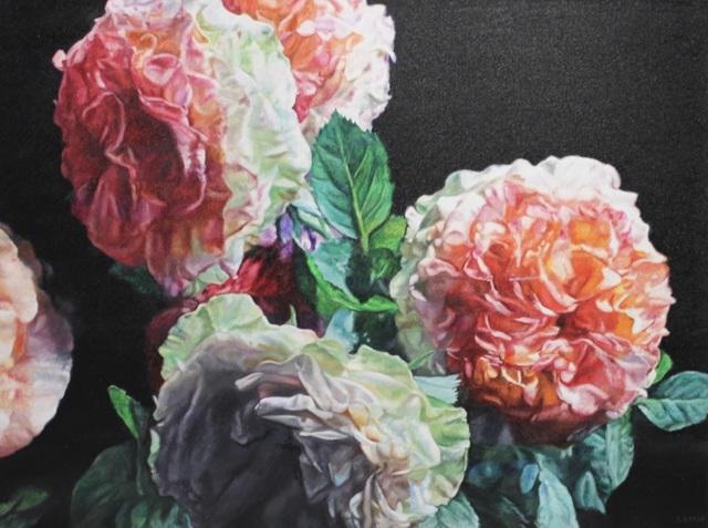 , 'Garden Roses II,' 2018, The Front Gallery
