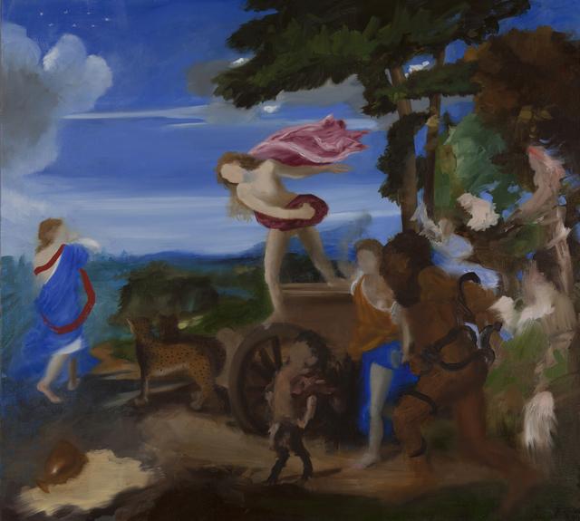 , 'Bachus and Ariadne III, (after Titian),' 2015, Cynthia Corbett Gallery