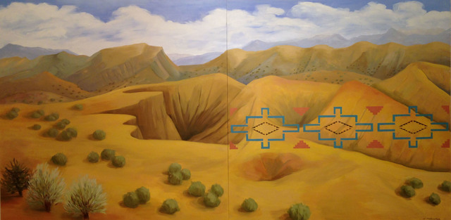 , 'New Mexico Desert,' 2011, American Federation of Arts