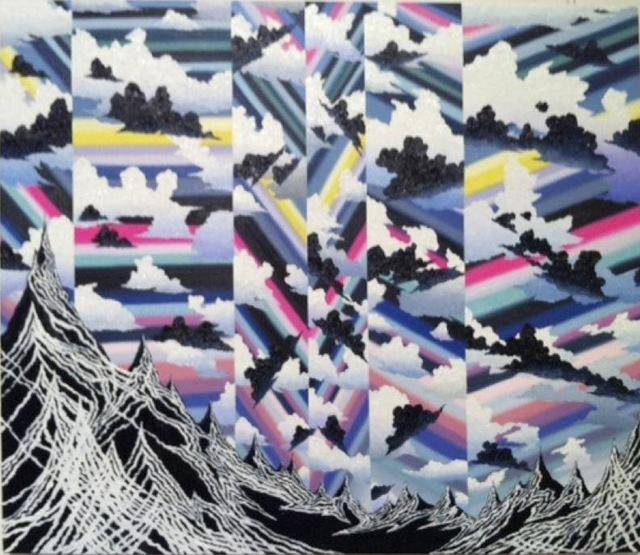 Akira Kamo, 'Mutation-Mountain and Sky', 2011, Painting, Oil on canvas, Japigozzi Collection