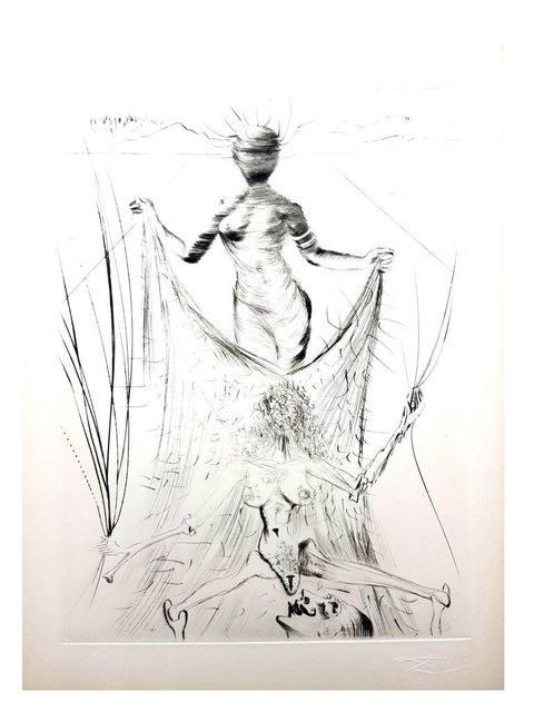 "Salvador Dalí, 'Original Etching ""Venus in Furs XII"" by Salvador Dali', 1968, Galerie Philia"