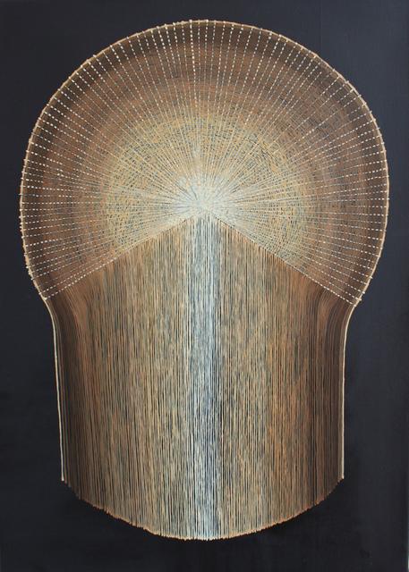 Mona Ardeleanu, 'Pliss 2019 / V', 2019, Galerie Thomas Fuchs