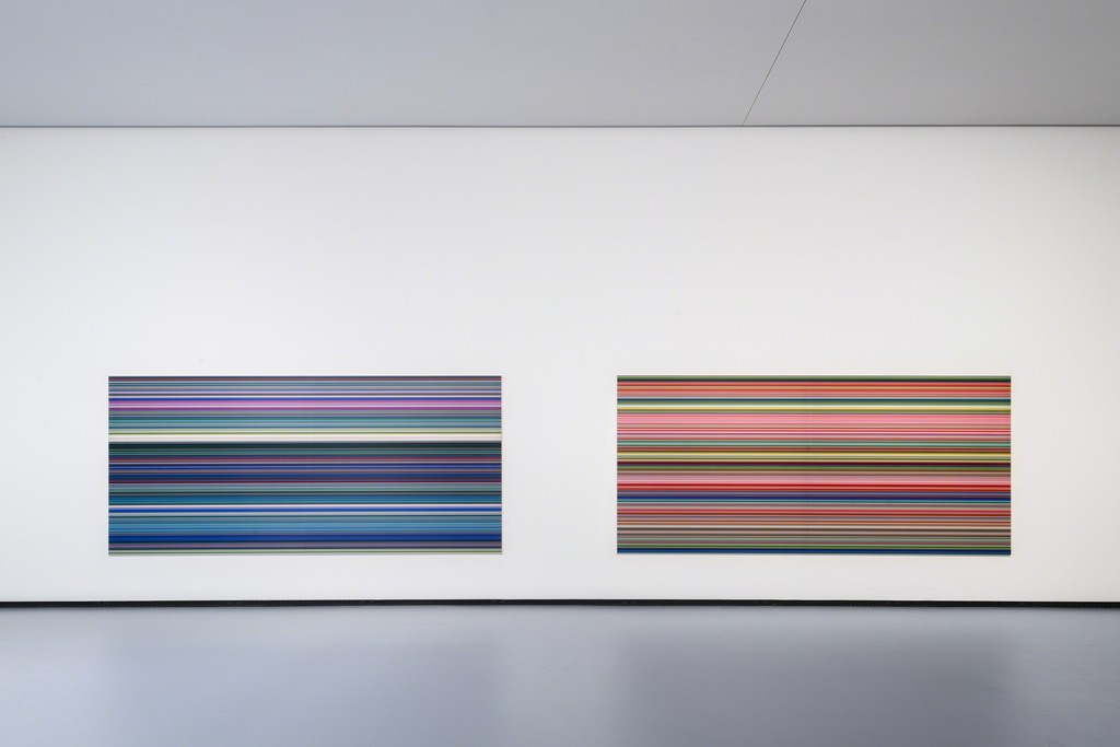 Gerhard Richter - Strip (921-5) and Strip (921-2) © Fondation Louis Vuitton Martin Argyroglo © Gerhard Richter