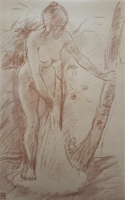 Berthe Morisot, 'Standing Bather', ca. 1920, Graves International Art