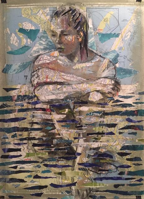 Audrey Anastasi, 'Aquatic Figure', 2018, Tabla Rasa Gallery