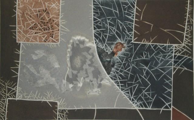 , 'El Guajolote- from Chilam Balam,' 1975, Stern Fine Art