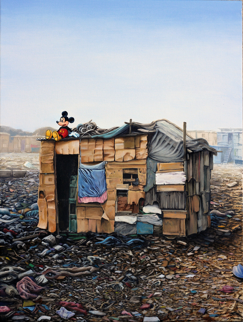 , 'Mickey Slum Shack #3,' 2016, Jonathan LeVine Projects