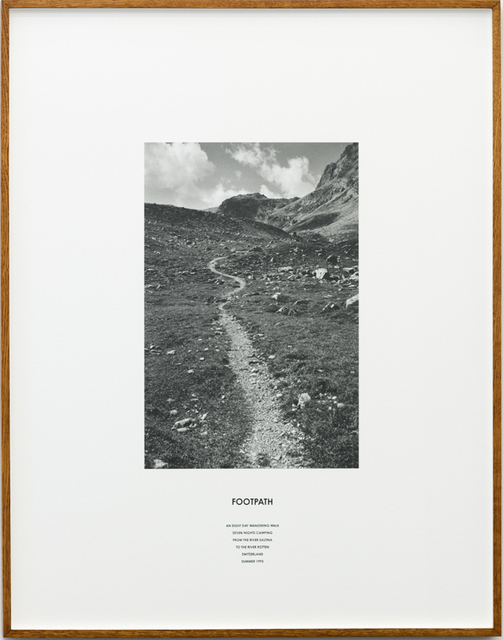 , 'Footpath (Switzerland),' 1995, Häusler Contemporary
