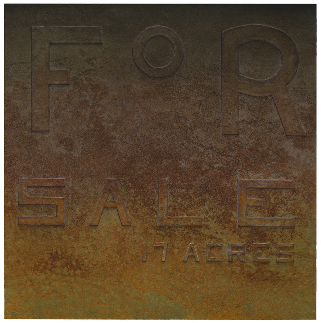 Ed Ruscha, 'Rusty Signs - For Sale', 2014, IPCNY: Benefit Auction 2018