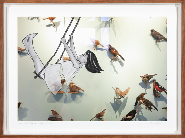 Lien Botha, 'Birds fragile like glass/Saartjie', 2018, Barnard