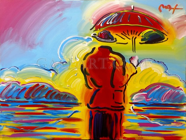 , 'UMBRELLA MAN AT SEA,' 2002, Gallery Art
