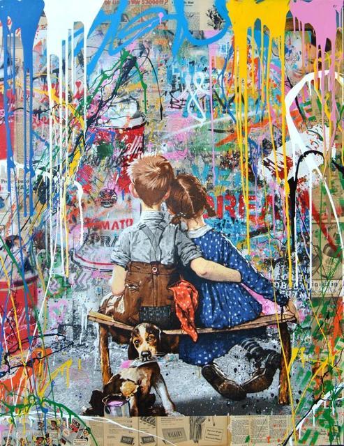 Mr. Brainwash, 'WORK WELL TOGETHER', 2018, Kapopoulos Fine Arts