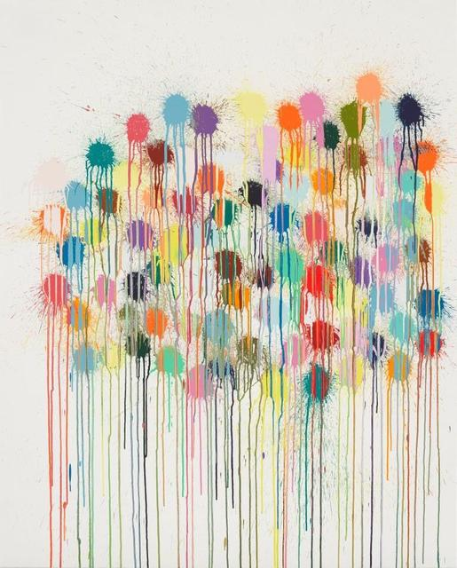 Ian Davenport, 'Colour Splat Wallop', 2019, Gallery HAAS & GSCHWANDTNER