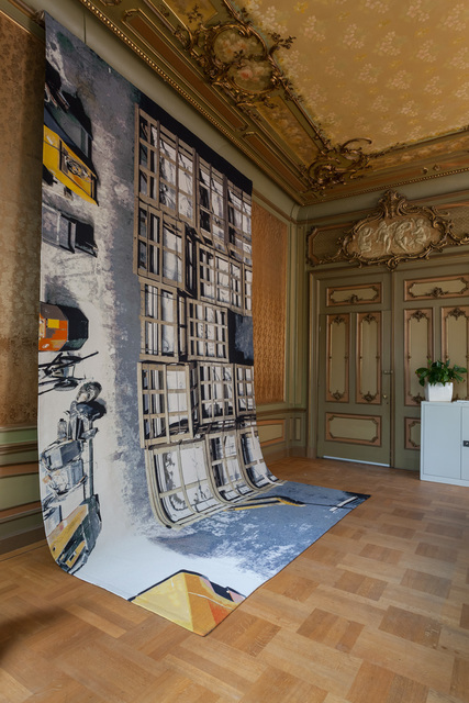 , 'Moving Rooms, Baroque Ceiling (Copy), Amsterdam Museum Depot,' 2013, Manifesta Foundation