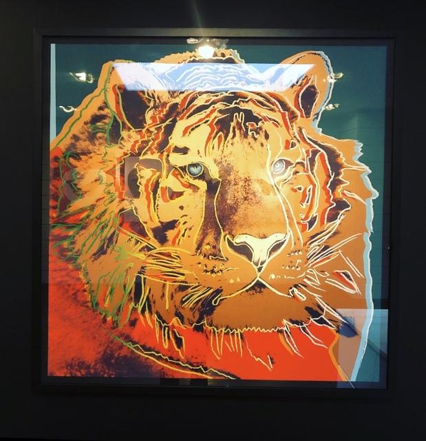Andy Warhol, 'Siberian Tiger 297', 1983, Arton Contemporary