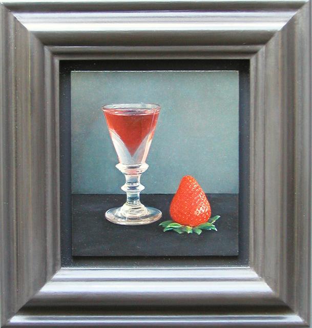 Lucy Mackenzie, 'Strawberry and Glass', 2004, Nancy Hoffman Gallery