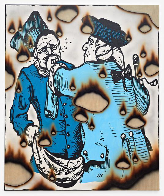 , 'local tiff,' 2017, Jacob Lewis Gallery