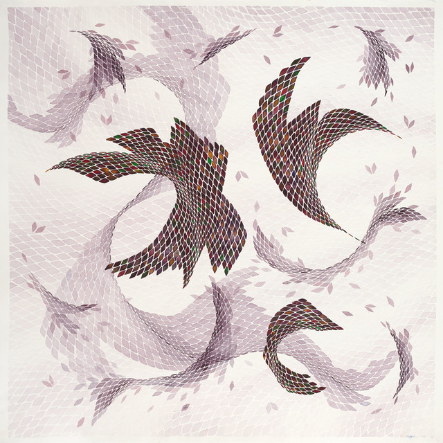 , 'Composition III,' 2014, Sabrina Amrani