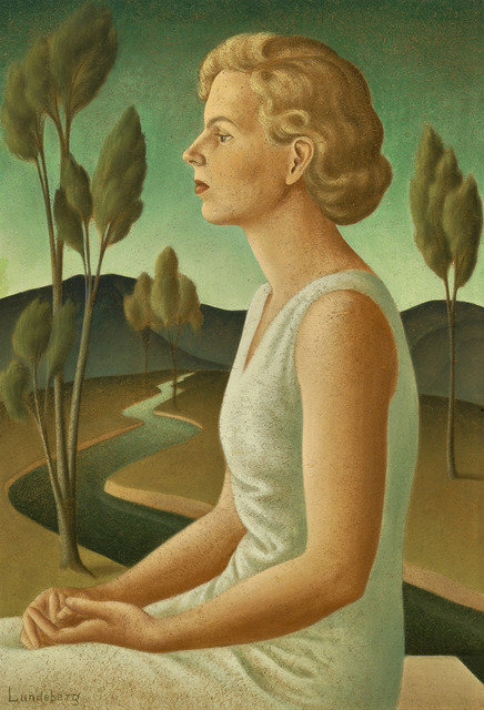 , 'Portrait of Inez,' 1933, Louis Stern Fine Arts