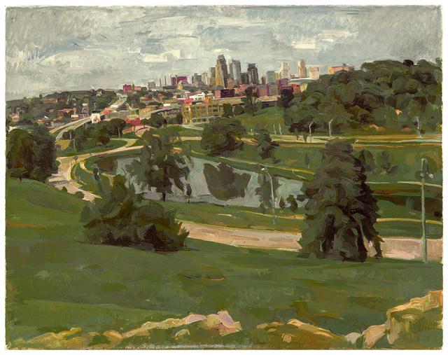, 'Kansas City, View from Penn Valley Park,' 2015, New York Studio School