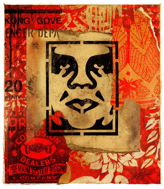 Shepard Fairey (OBEY), 'Icon Stencil', 2018, Galerie Ernst Hilger