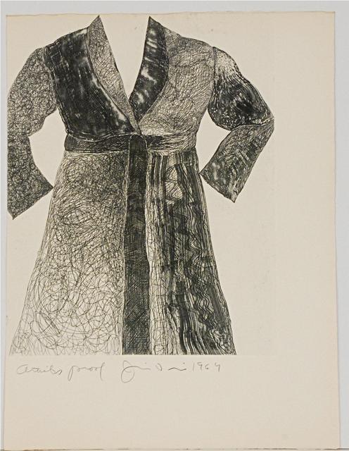 , 'Untitled (Bathrobe),' 1964, Sragow Gallery