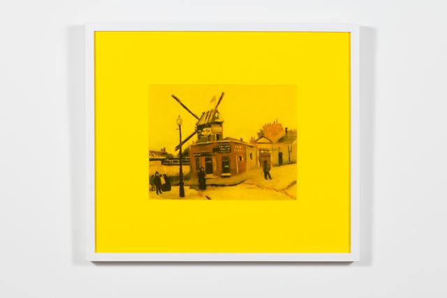 , 'Le moulin de la Galette (jaune),' 2018, Art Mûr
