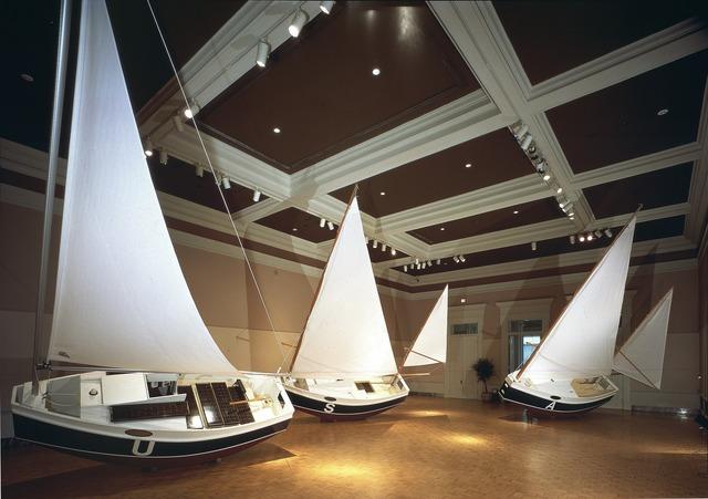 Chris Burden, 'Three Ghost Ships', 1991, Gagosian