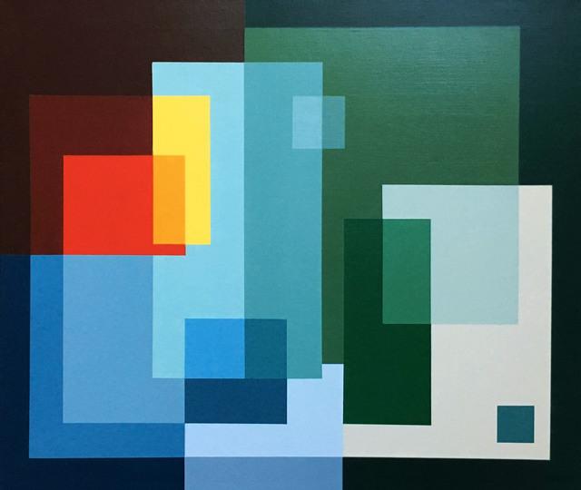 , 'Geometry transparencies II,' 2018, Artig Gallery