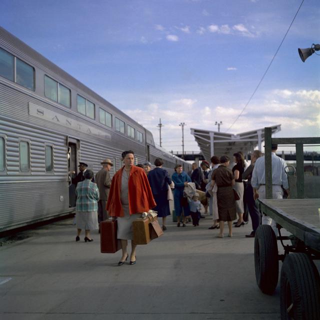 , 'Santa Fe Railroad, Chicago,' 1959, Howard Greenberg Gallery